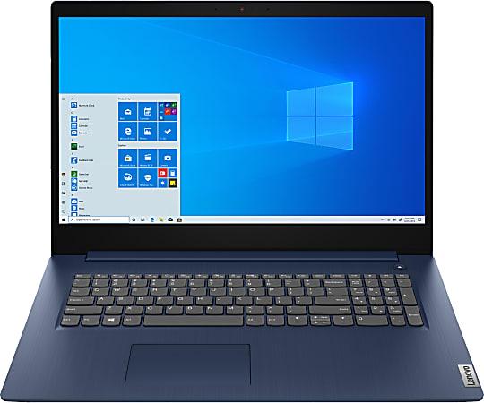 "Lenovo® IdeaPad 3i Laptop, 17.3"" Screen, Intel® Core™ i3, 8GB Memory, 1TB Hard Drive, Wi-Fi 6, Windows® 10, 82H90010US"