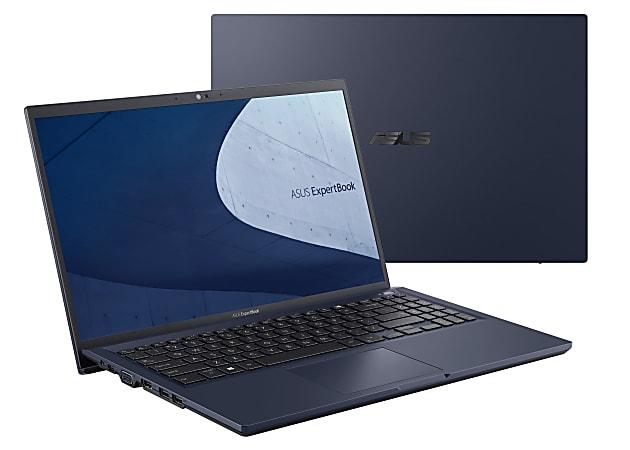 "ASUS® B1500CEA Expertbook Laptop, 15.6"" Screen, Intel® Core™ i7, 16GB Memory, 512GB Solid State Drive, Wi-Fi 6, Windows® 10, B1500CEA-XS74"