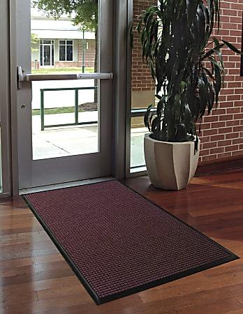 WaterHog Floor Mat, Classic, 3' x 5', Bordeaux
