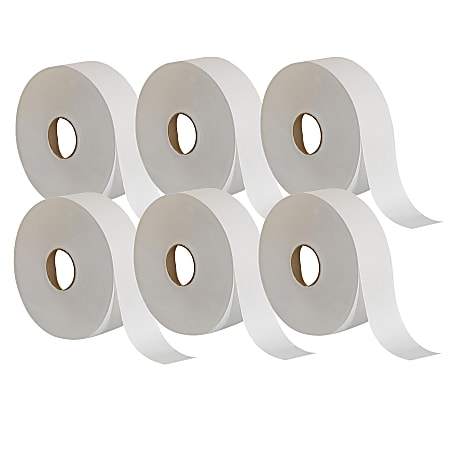 Georgia-Pacific 2-Ply Toilet Paper, 2000' Roll, Case Of 6 Rolls
