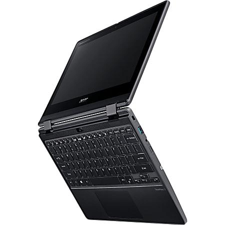 "Acer TravelMate Spin B3 B311R-31 TMB311R-31-C6M4 11.6"" Touchscreen 2 in 1 Notebook - HD - 1366 x 768 - Intel Celeron N4120 1.10 GHz - 4 GB RAM - 128 GB Flash Memory - Shale Black - Windows 10 Pro Education - Intel UHD Graphics 600"