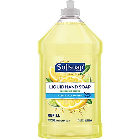 Softsoap® Liquid Hand Soap Refill, Refreshing Citrus Scent, 32 Fl Oz Pour Bottle