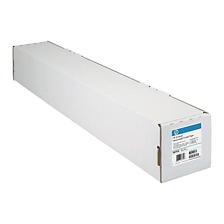 "HP Q1412B Universal Heavyweight Coated Wide Format Roll, 24"" x 100', 32 Lb"