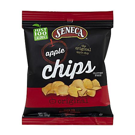 Seneca Original Apple Chips, 0.7 Oz, Pack Of 60 Bags