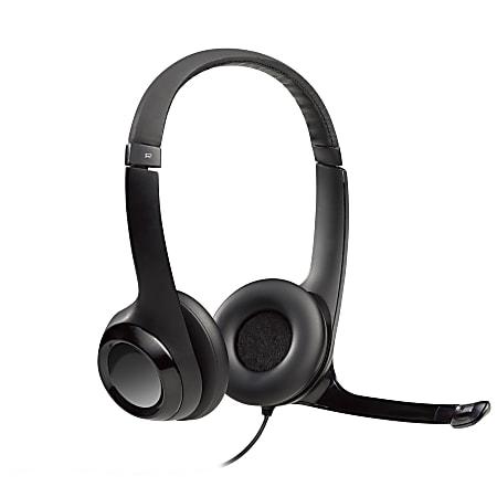 Logitech® H390 On-Ear Computer Headset