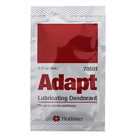 Adapt™ Lubricating Deodorant, 8ml Packets, Box Of 50
