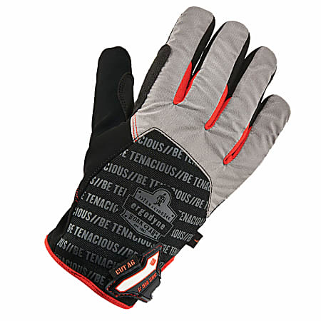 Ergodyne ProFlex 814CR6 Thermal Utility Gloves, Large, Black