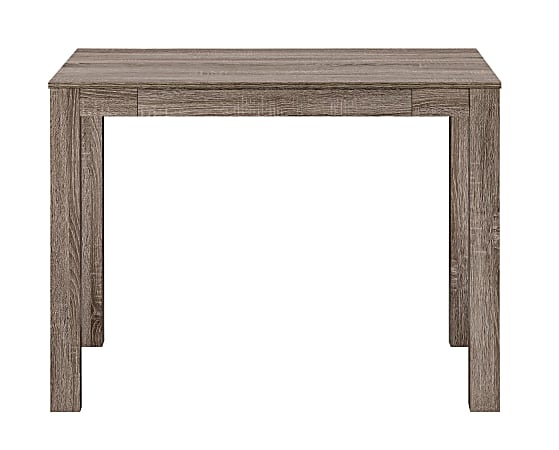 Ameriwood™ Home Parsons Desk With Drawer, Distressed Gray Oak