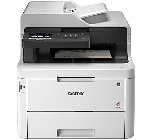 Brother® MFC-L3770CDW Wireless Laser All-In-One Color Printer