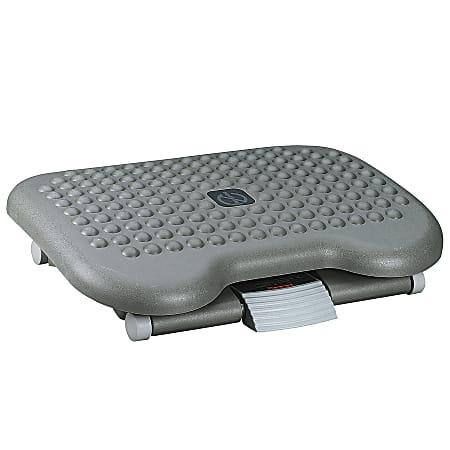 Eldon® Height-Adjustable Tilting Footrest