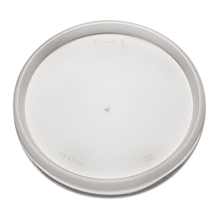 Dart Vented Plastic Lids For 6 - 32 Oz Foam Cups, Translucent, Pack Of 1,000 Lids