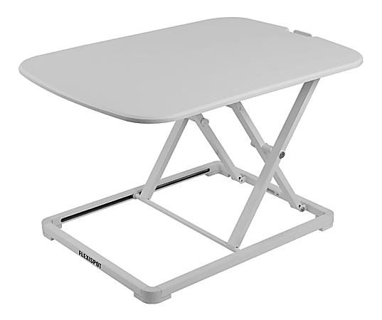 "FlexiSpot GoRiser ML2W Sit-Stand Converter, 34""H x 26-13/16""W x 18-15/16""D, White"