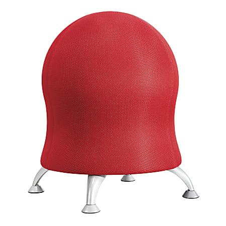 Safco® Zenergy Exercise Ball Stool, Crimson