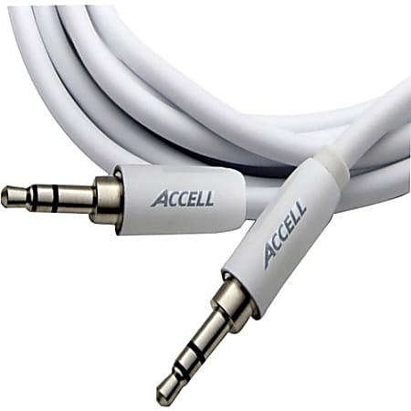Accell 3.5mm Stereo Audio Cable, M/M