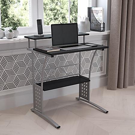 Flash Furniture Clifton Computer Desk, Black