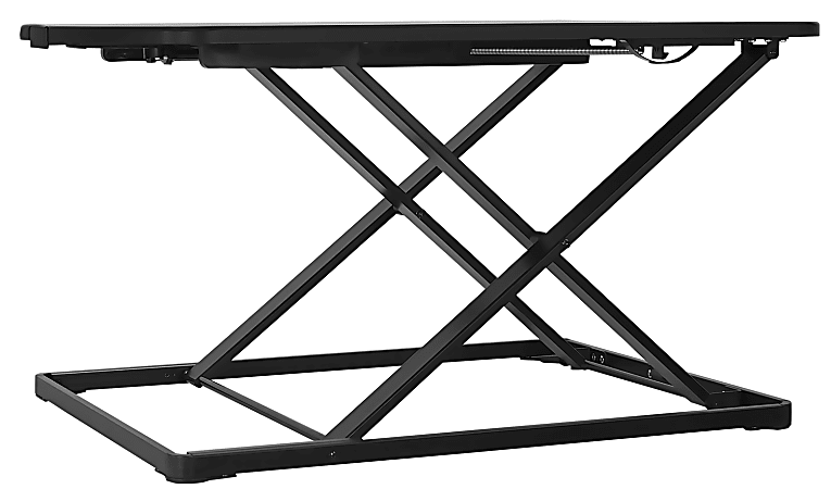 "Mount-It! MI-7966 Ergonomic Standing Desk Converter, 34-5/16""W x 22""D, Black"