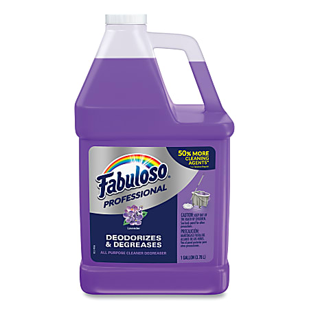 Fabuloso® All-Purpose Cleaner Concentrate, Lavender Scent, 128 Oz Bottle