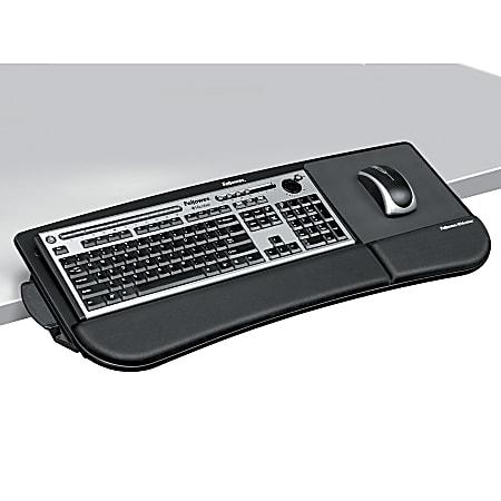 Fellowes® Tilt 'n Slide Keyboard Manager, Black