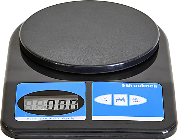 Brecknell® Electronic Office Scale, 11-Lb Capacity