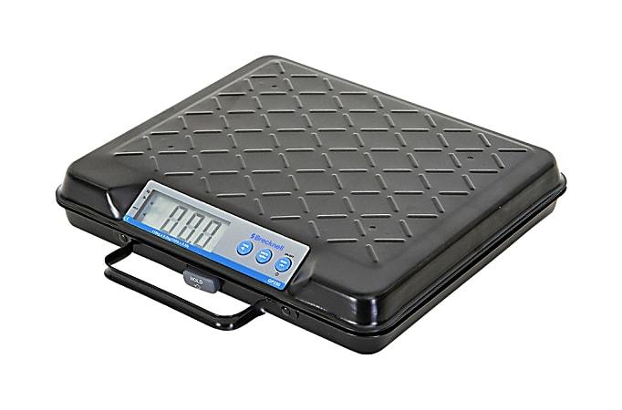 Brecknell® Electromechanical Digital Scale, 100-Lb Capacity, Black
