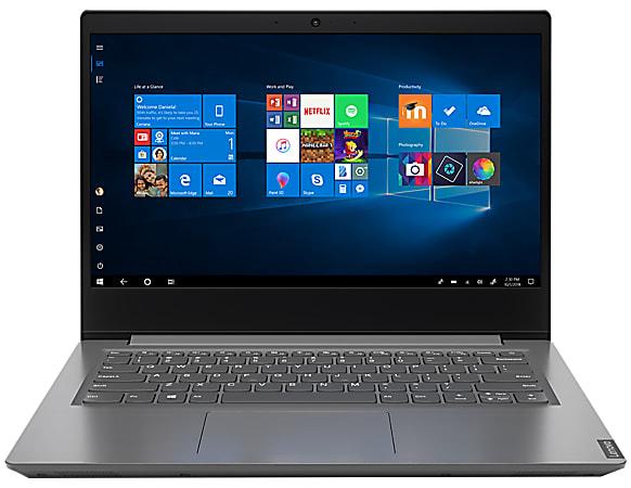 "Lenovo® V14 IIL Laptop, 14"" Screen, Intel® Core™ i3, 8GB Memory, 256GB Solid State Drive, Windows® 10, 82C401FFUS"