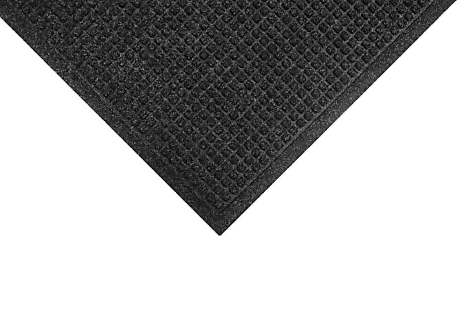 M+A Matting Waterhog Fashion Floor Mat, 4' x 8', Charcoal