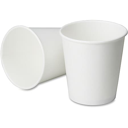 Disposable Paper Cold Cups, 8 Oz., Box Of 2,000 (AbilityOne 7350-00-162-3006)