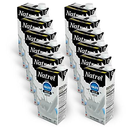 Natrel® Low Fat Skim Milk, 32 Oz, Pack Of 12