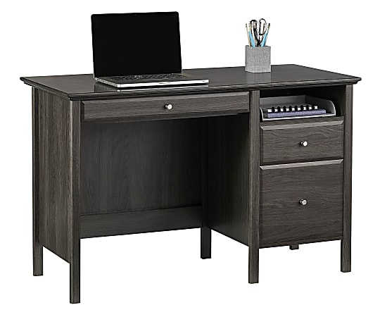 "Realspace® Chase 47""W Writing Desk, Coastal Gray"