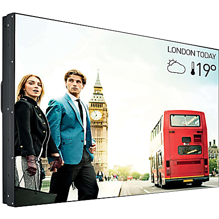 """Philips Signage Solutions Video Wall Display - 48.5"""" LCD - 1920 x 1200 - Direct LED - 450 Nit - 1080p - HDMI - DVI - SerialEthernet"""