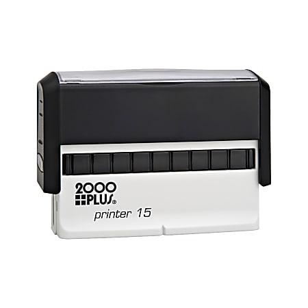 """Custom 2000 PLUS® Self-Inking Signature Stamp, P15, 3/8"""" x 2-11/16"""" Impression"""