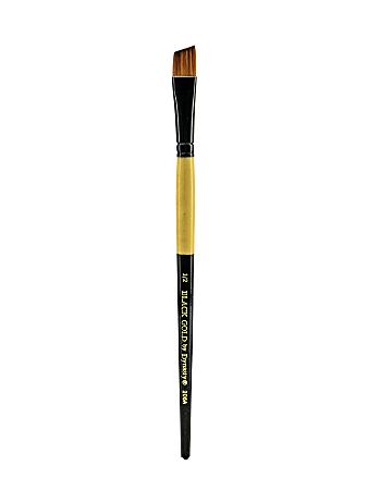 "Dynasty Short-Handled Paint Brush, 1/2"", Angular Bristle, Synthetic, Multicolor"