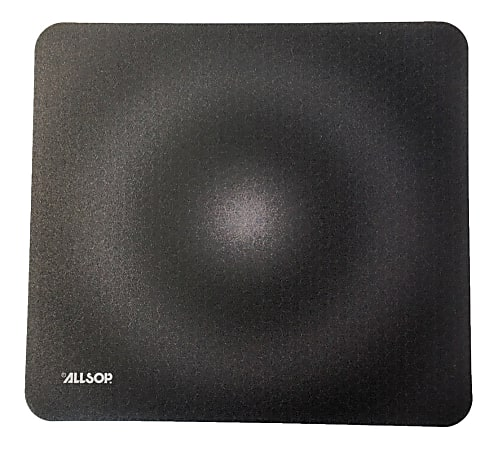 "Allsop® Accutrack Slimline Mouse Pad, 0.16""H x 8""W x 8.5""D, Graphite"