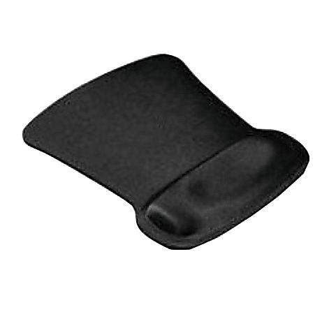 Allsop® Ergoprene Gel Mouse Pad, Black