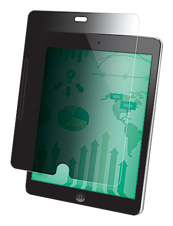 3M™ Privacy Filter For Apple® iPad® Air, Portrait, Black