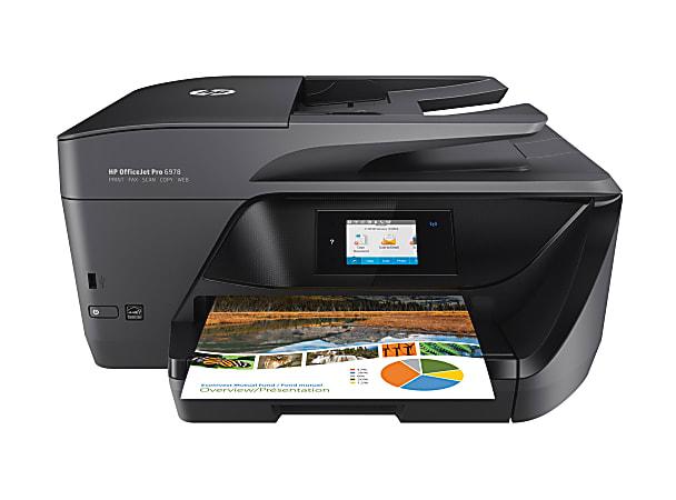 HP OfficeJet Pro 6978 Wireless Color Inkjet All-In-One Printer