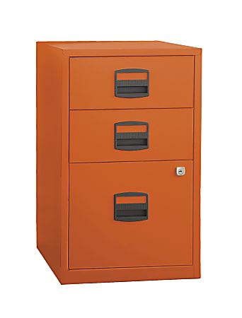 Under Desk Storage Cabinet Metal Orange, Under Desk Storage Drawer