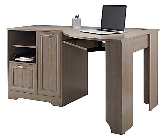 "Realspace® Magellan 60""W Corner Desk, Gray"