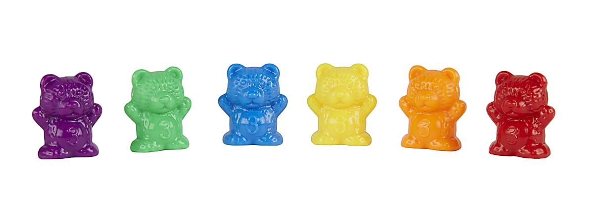 Office Depot® Brand Math Manipulative Bear Counters, Pre-K, Assorted Colors