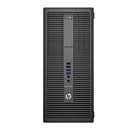 HP EliteDesk 800 G2 Tower Refurbished Desktop PC, Intel® Core™ i5, 32GB Memory, 480GB Solid State Drive, Windows® 10, RF610486