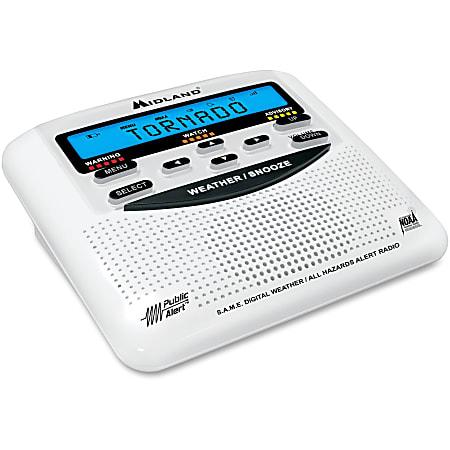 Midland WR120 Desktop Weather Alert Radio