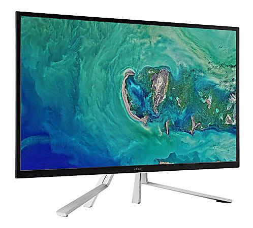 "Acer® ET322QU Refurbished 31.5"" WQHD LED Monitor, VESA® Mount, White, UM.JE2AA.005"