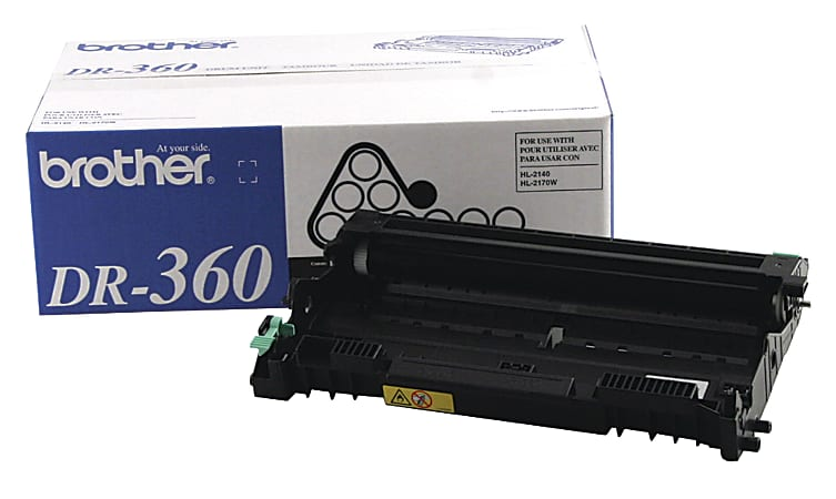 Brother® DR-360 Black Drum Unit
