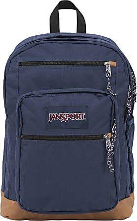 "JanSport Cool Student Backpack with 15"" Laptop Pocket, Navy"
