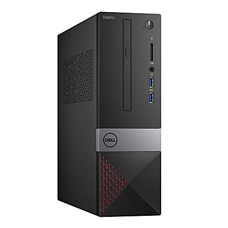 Dell™ Vostro 3471 SFF Desktop PC, Intel® Core™ i5, 8GB Memory, 256GB Solid State Drive, Windows® 10, V34715169BLK