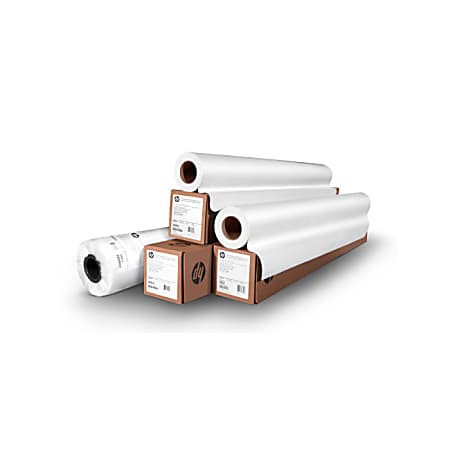 """HP Poster Paper Roll, Photo-Realistic, 60"""" x 200', White"""