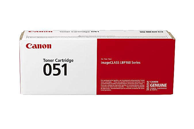 Canon CRG 051 Black Toner Cartridge (2168C001)