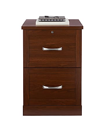 Realspace Cabinet 2 Drawer Vertical, File Cabinet 2 Drawer Wood