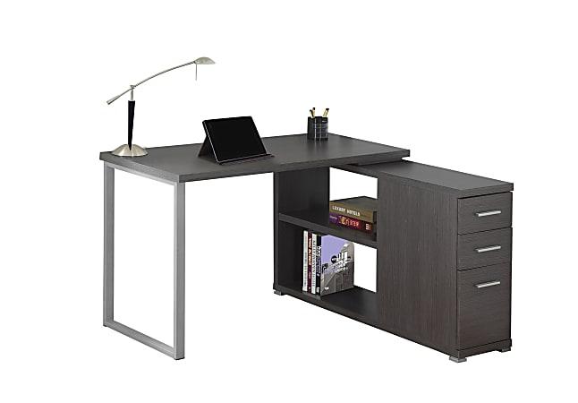Monarch Specialties Contemporary MDF Computer Desk, Gray