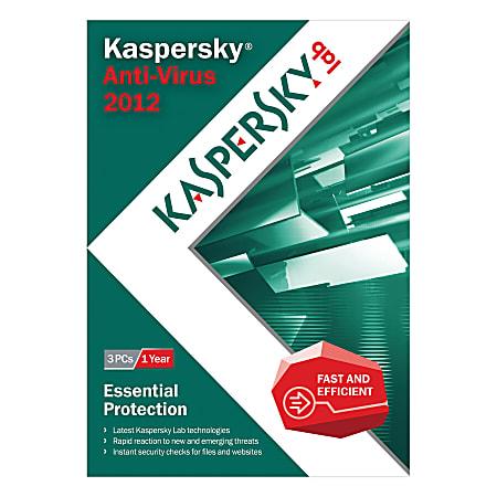 Kaspersky® Anti-Virus 2012, Traditional Disc